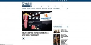 Ryan Seacrest's Fandango Movie Tickets For a Year Sweepstakes