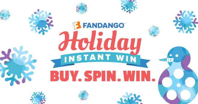 Fandango Holiday Instant Win