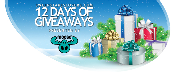 SweepstakesLovers.com 12 Days Of Giveaways presented by Moose Toys