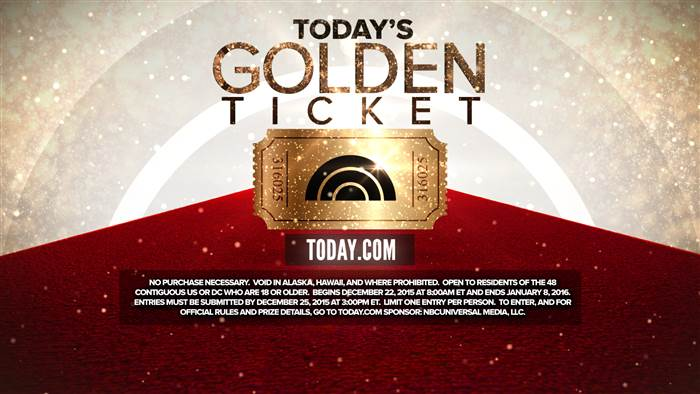 TODAY's Golden Ticket Contest