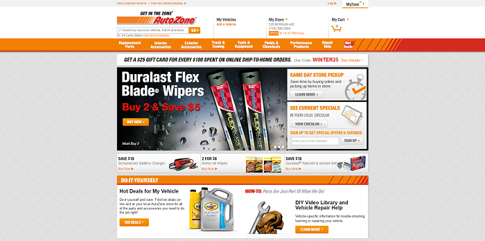 AutoZoneCares.com - AutoZone Customer Satisfaction Survey Sweepstakes