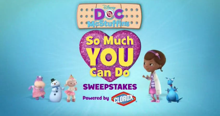 Doc McStuffins So Much You Can Do Sweepstakes