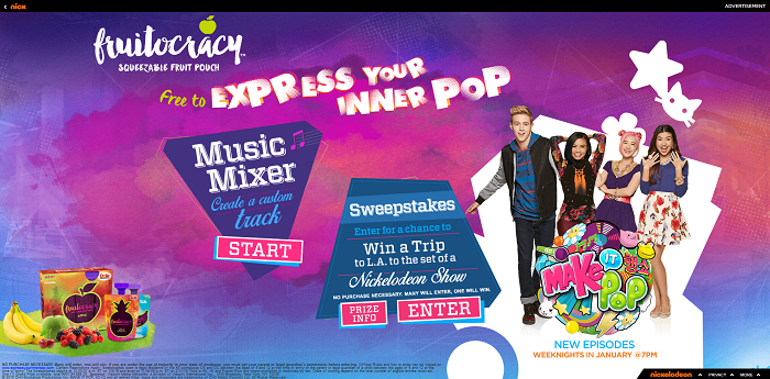ExpressYourInnerPop.com - Dole Express Your Inner Pop Sweepstakes