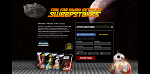 GeneralMills.com/StarWars - Star Wars Far, Far Away Getaway Sweepstakes