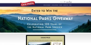 Little Debbie National Parks Adventure Giveaway