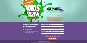 NickKidsChoiceAwardsSweeps.com - Nickelodeon Kids' Choice Awards Sweepstakes 2016