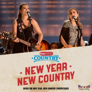 Radio Disney New Year, New Country Sweepstakes