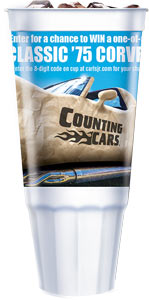Carl's Jr 75th Anniversary Sweepstakes Cup