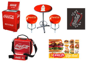 Carl's Jr. 75th Anniversary Sweepstakes Prizes