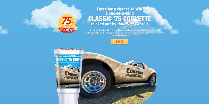 Carl's Jr. 75th Anniversary Sweepstakes
