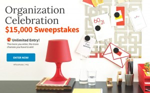 BHG Celebration Organization $15,000 Sweepstakes