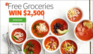 Grocery Sweepstakes