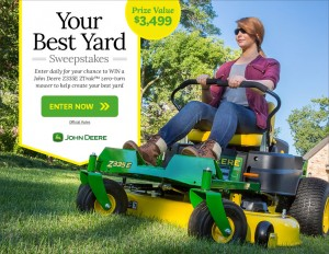 Your Best Yard Sweepstakes