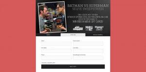 Price Chopper & General Mills Batman vs. Superman Sweepstakes