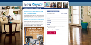 Bona Power Pair Sweepstakes