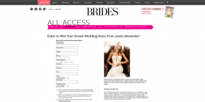 Brides Justin Alexander Dream Dress Giveaway