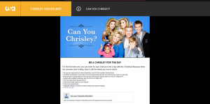 USA Network Can You Chrisley Sweepstakes