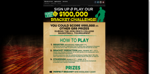 Quaker Steak & Lube $100,000 Bracket Challenge