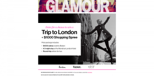 GLAMOUR London Fashion Sweepstakes
