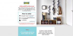 Ikea #MessofTheMoment Sweepstakes