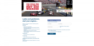 Indy 500 TireBuyer Bridgestone Sweepstakes