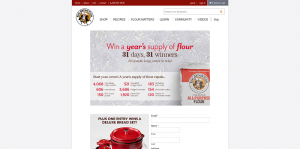 King Arthur Flour Sweepstakes