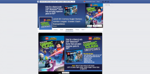 LEGO DC Comics Super Heroes: Justice League: Cosmic Clash Sweepstakes