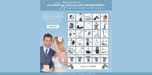 Macy's 31 Days of Wedding Presents Sweepstakes