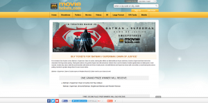 MovieTickets.com's Batman v Superman: Dawn of Justice Sweepstakes