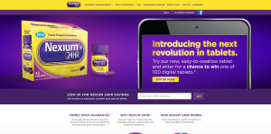 NEXIUM 24HR Win A Tablet Sweepstakes