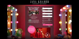 Pure Silk Jana Kramer Concert Getaway Sweepstakes