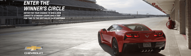 RaceToWinCorvette.com - Race To Win Corvette Sweepstakes