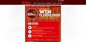 Red Robin Bracket Challenge