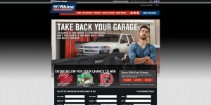 Rhino Linings Take Back Your Garage Sweepstakes