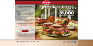 Sara Lee Deli Sweepstakes