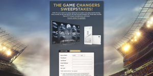 Sony Game Changer Sweepstakes