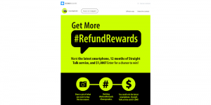 Straight Talk #RefundRewards Sweepstakes