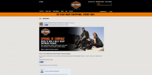 Harley-Davidson Footwear 2016 Rally Ready Sweepstakes