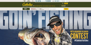 Cabela's Goin' Fishing with Brandon Palaniuk Contest