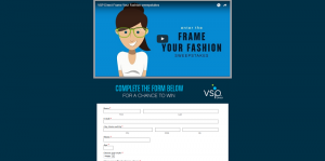 VSP Vision Care Frame Your Fashion Sweepstakes