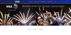 Visa Rio 2016 Olympic Games-Themed Sweepstakes