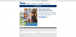 WIN a New Spring Wardrobe from Purex Sweepstakes