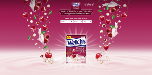 Welch's Fruit 'n Yogurt Cherrygram Sweepstakes
