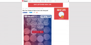 iHeartRadio Live in the Vineyard 2016 Sweepstakes