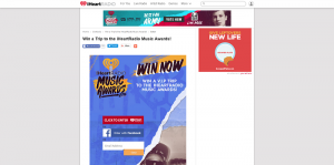 iHeartRadio Win a Trip to the 2016 iHeartRadio Music Awards Sweepstakes