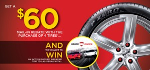 Pirelli 2016 Dream Racing Sweepstakes