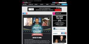 Radio.com ACM Party For A Cause Sweepstakes