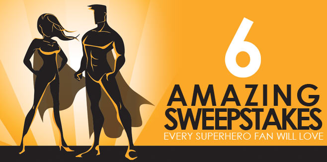 superhero sweepstakes