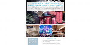 Martha Stewart Weddings Las Vegas Sweepstakes