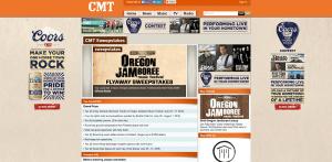 CMT Oregon Jamboree Sweepstakes